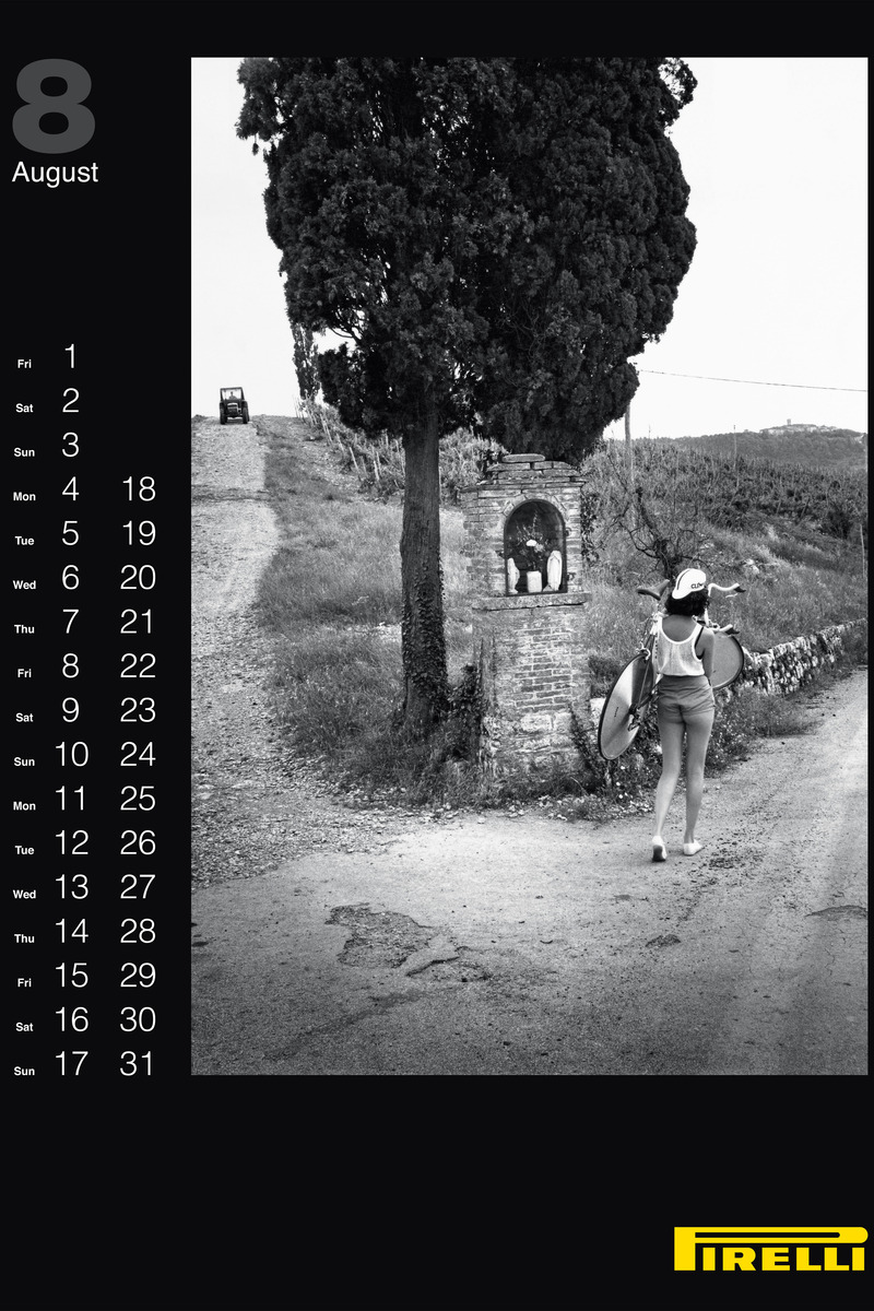Pirelli Features Vintage Helmut Newton Photos for 2014 Calendar