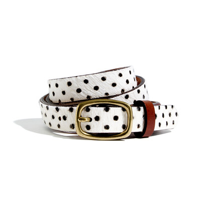 polka dot belt Holiday Gift Guide 2013 | Bags & Accessories