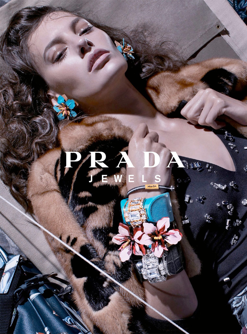 prada resort 2014 campaign 5 Anna, Cameron and Amanda Star in Prada Resort 2014 Campaign by Steven Meisel