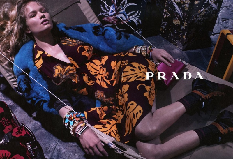 prada resort 2014 campaign1 Anna, Cameron and Amanda Star in Prada Resort 2014 Campaign by Steven Meisel