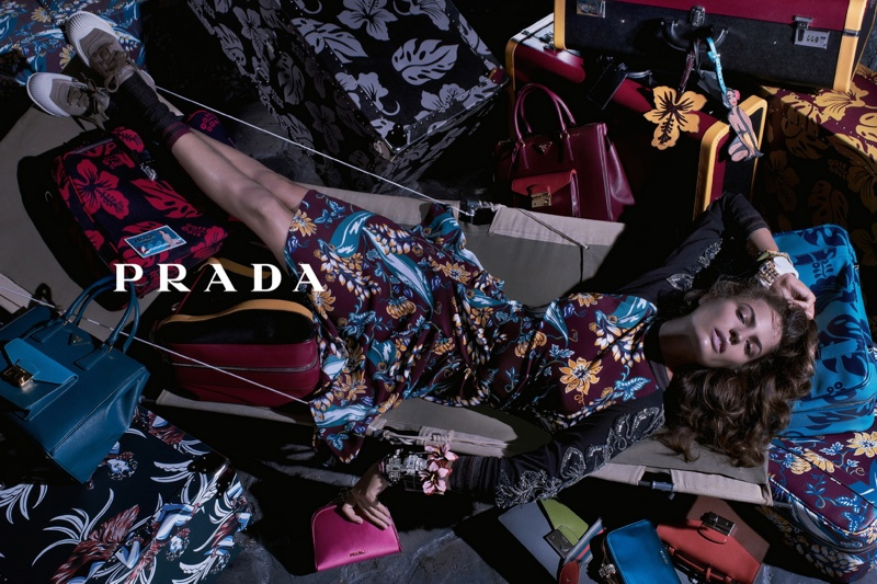 prada resort 2014 campaign2 Anna, Cameron and Amanda Star in Prada Resort 2014 Campaign by Steven Meisel