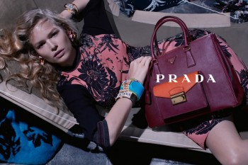 Anna, Cameron and Amanda Star in Prada Resort 2014 Campaign by Steven Meisel