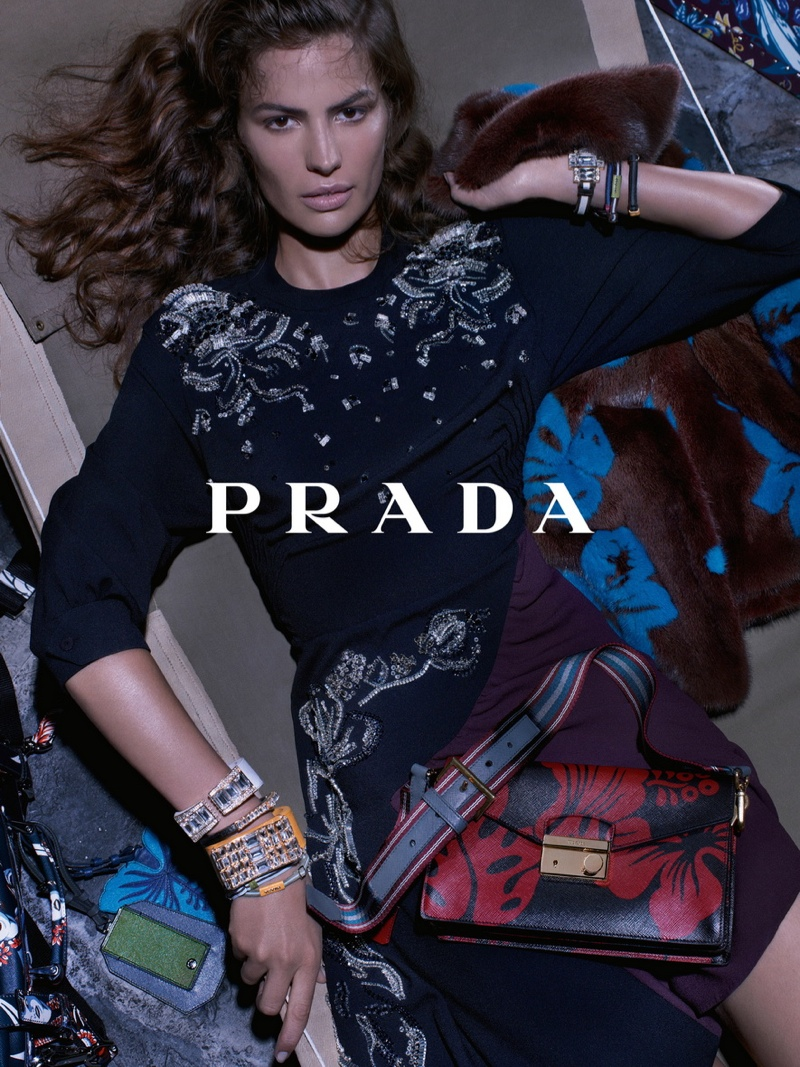 prada resort 2014 campaign4 Anna, Cameron and Amanda Star in Prada Resort 2014 Campaign by Steven Meisel