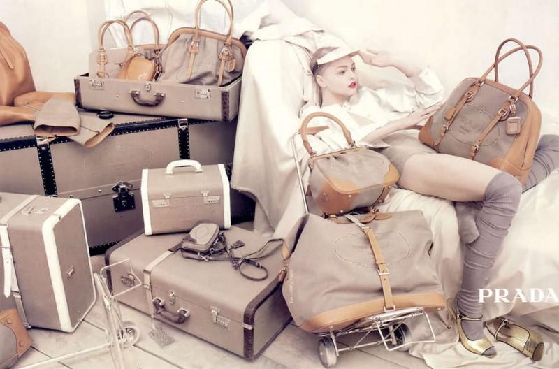 Throwback Thursday | Sasha Pivovarova for Prada's Spring 2006 Campaign