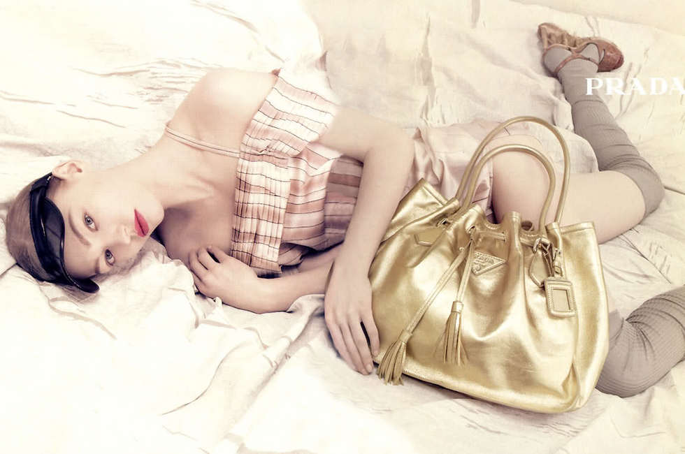 Throwback Thursday | Sasha Pivovarova for Prada's Spring 2006 Campaign