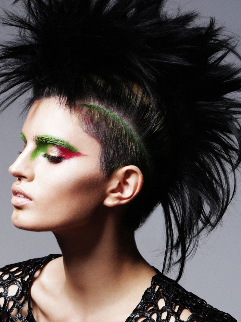 punk beauty3 Sasha Panika by George Pavlenko in Pretty in Punk for Fashion Gone Rogue