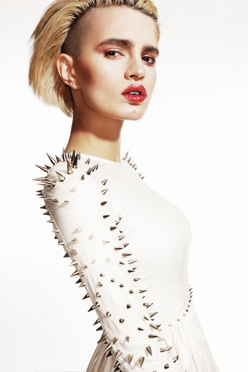 "Sasha Panika by George Pavlenko in ""Pretty in Punk"" for Fashion Gone Rogue"