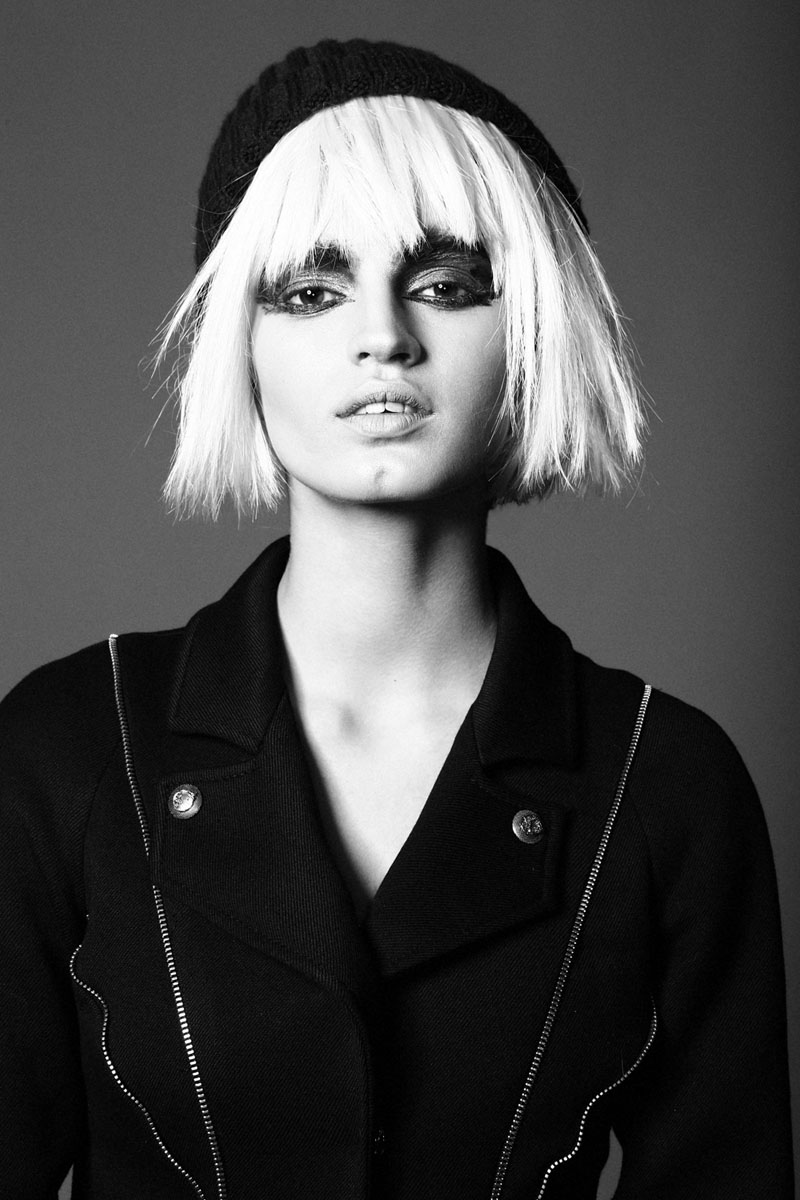 punk beauty6 Sasha Panika by George Pavlenko in Pretty in Punk for Fashion Gone Rogue