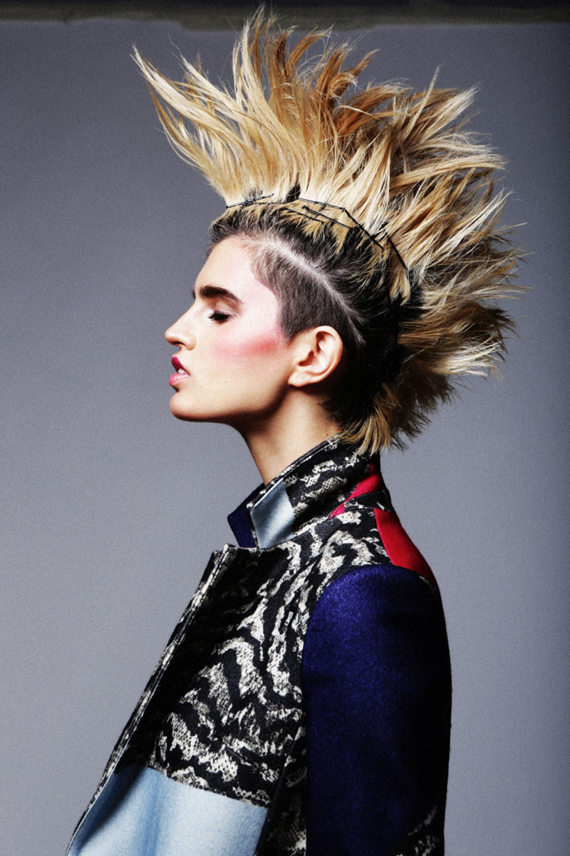 punk beauty7 Sasha Panika by George Pavlenko in Pretty in Punk for Fashion Gone Rogue