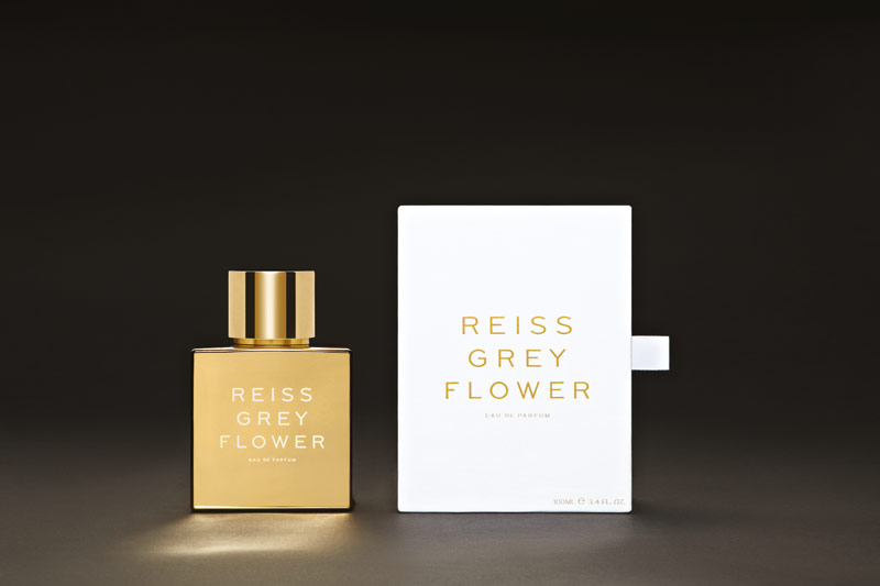reiss grey flower bottle Reiss Grey Flower Fragrance Launch
