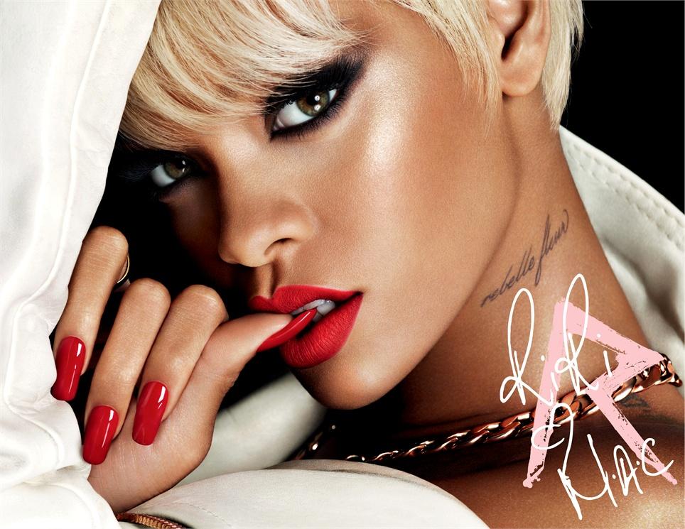 Rihanna Named as Mac's New Viva Glam Spokesperson