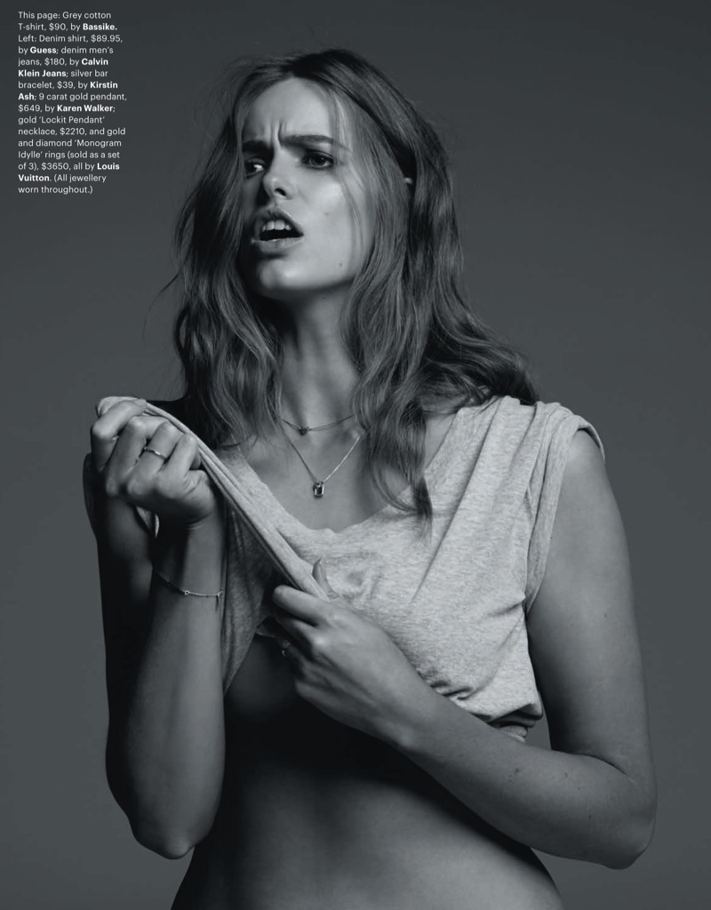 robyn gq shoot2 Robyn Lawley is Seductive in Denim for GQ Spread by Pierre Toussaint