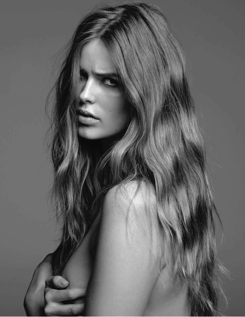 robyn gq shoot3 Robyn Lawley is Seductive in Denim for GQ Spread by Pierre Toussaint