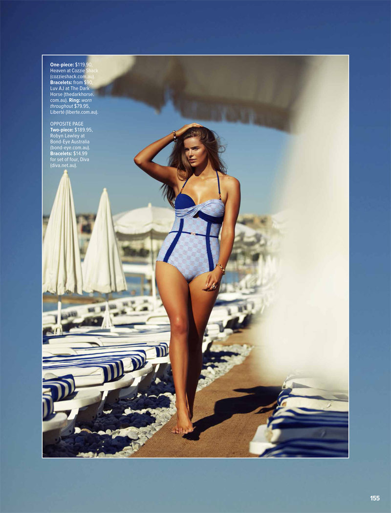 Robyn Lawley is a Swimsuit Stunner in Cosmopolitan Australia Shoot