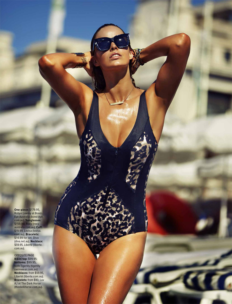 robyn lawley pictures4 Robyn Lawley is a Swimsuit Stunner in Cosmopolitan Australia Shoot