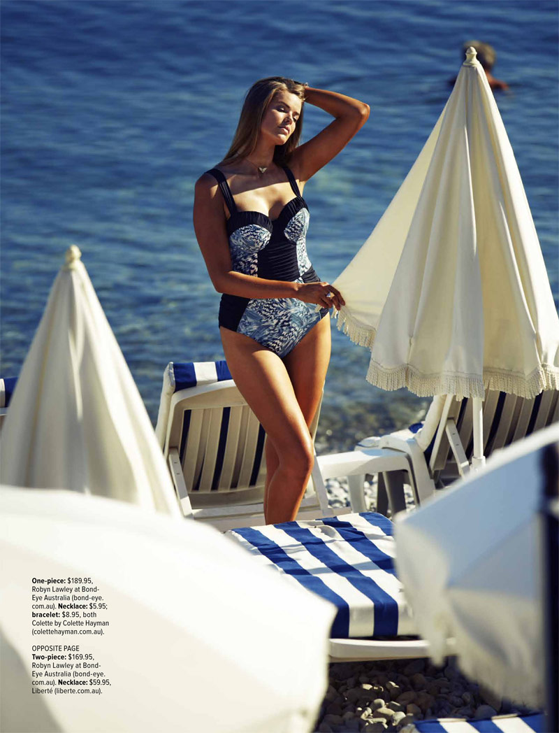 robyn lawley pictures5 Robyn Lawley is a Swimsuit Stunner in Cosmopolitan Australia Shoot