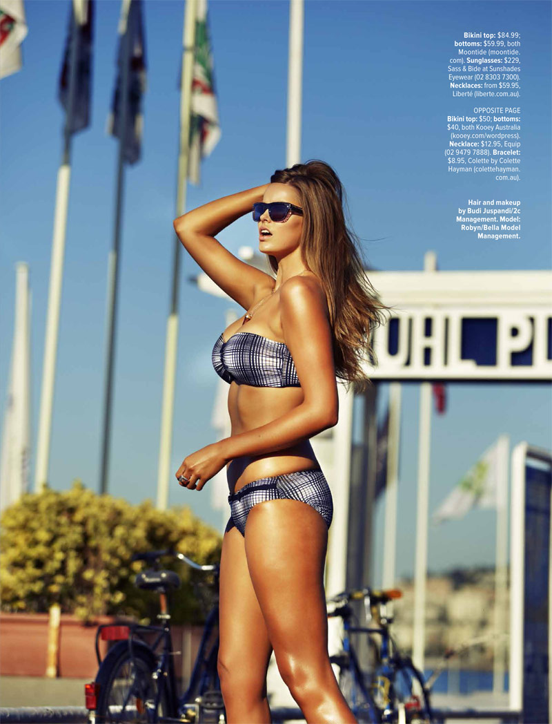 robyn lawley pictures8 Robyn Lawley is a Swimsuit Stunner in Cosmopolitan Australia Shoot
