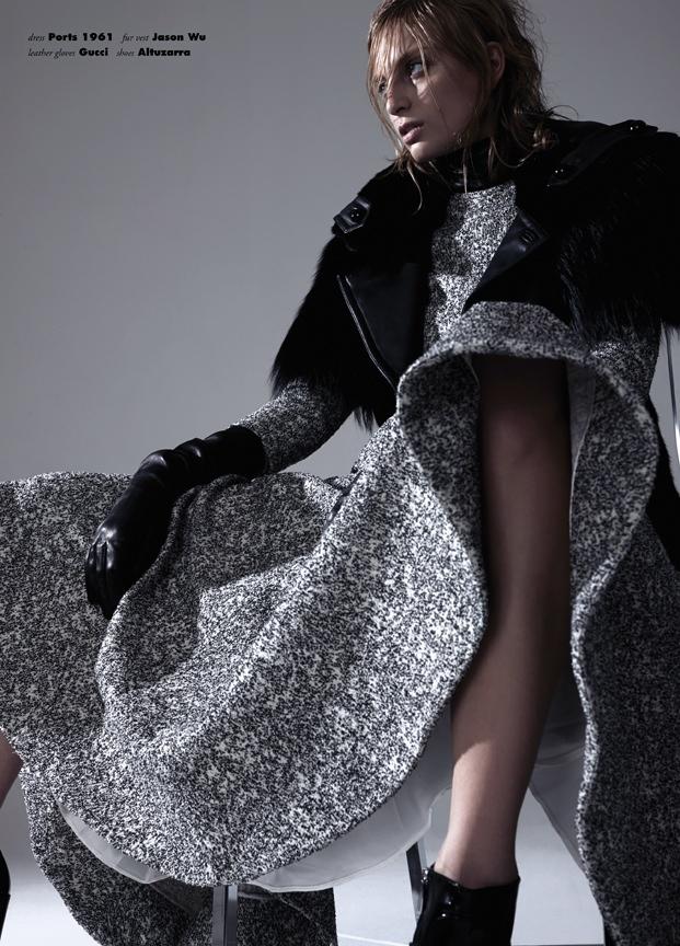 Rose Smith Models Moody Fashion for Seiji Fujimori in Vision China