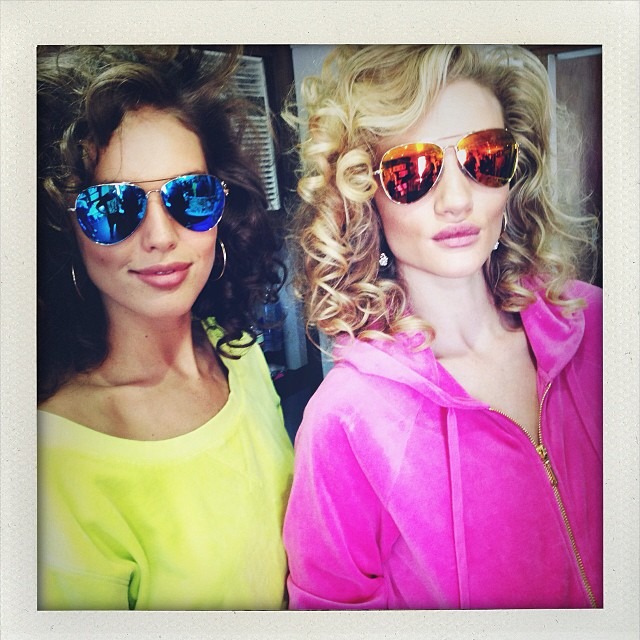 Rosie Huntington-Whiteley & Emily DiDonato to Star in Upcoming Juicy Couture Ads