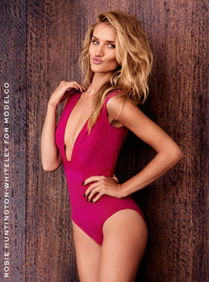 rosie modelco ads2 Rosie Huntington Whiteley Stuns in ModelCos Spring 2013/2014 Campaign