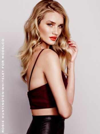 Rosie Huntington-Whiteley Stuns in ModelCo's Spring 2013/2014 Campaign