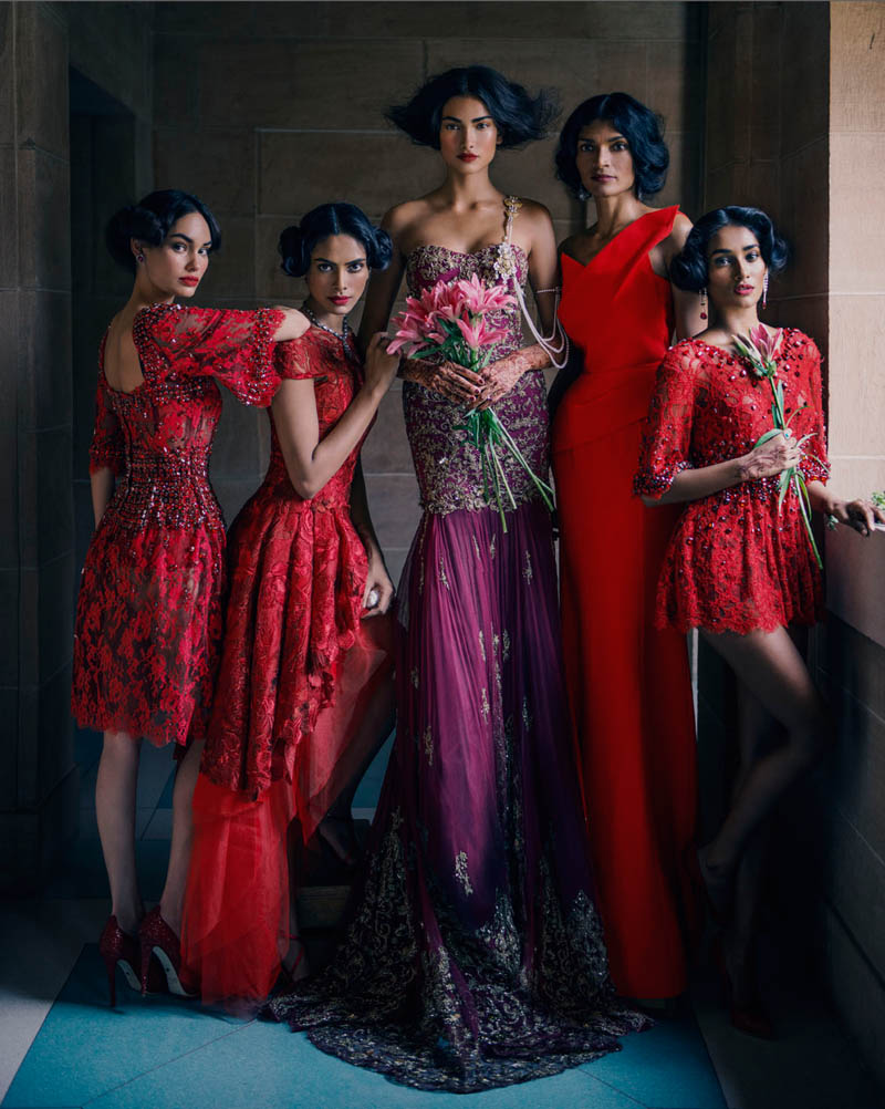 signe vilstrup vogue1 Signe Vilstrup Captures Wedding Style for Vogue India November 2013