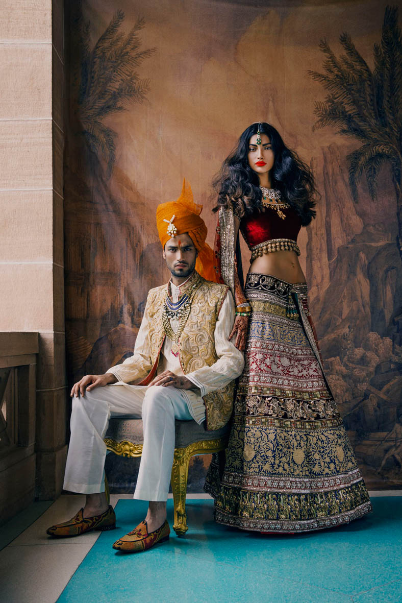 signe vilstrup vogue4 The Edit: Indian Bridal Shoots