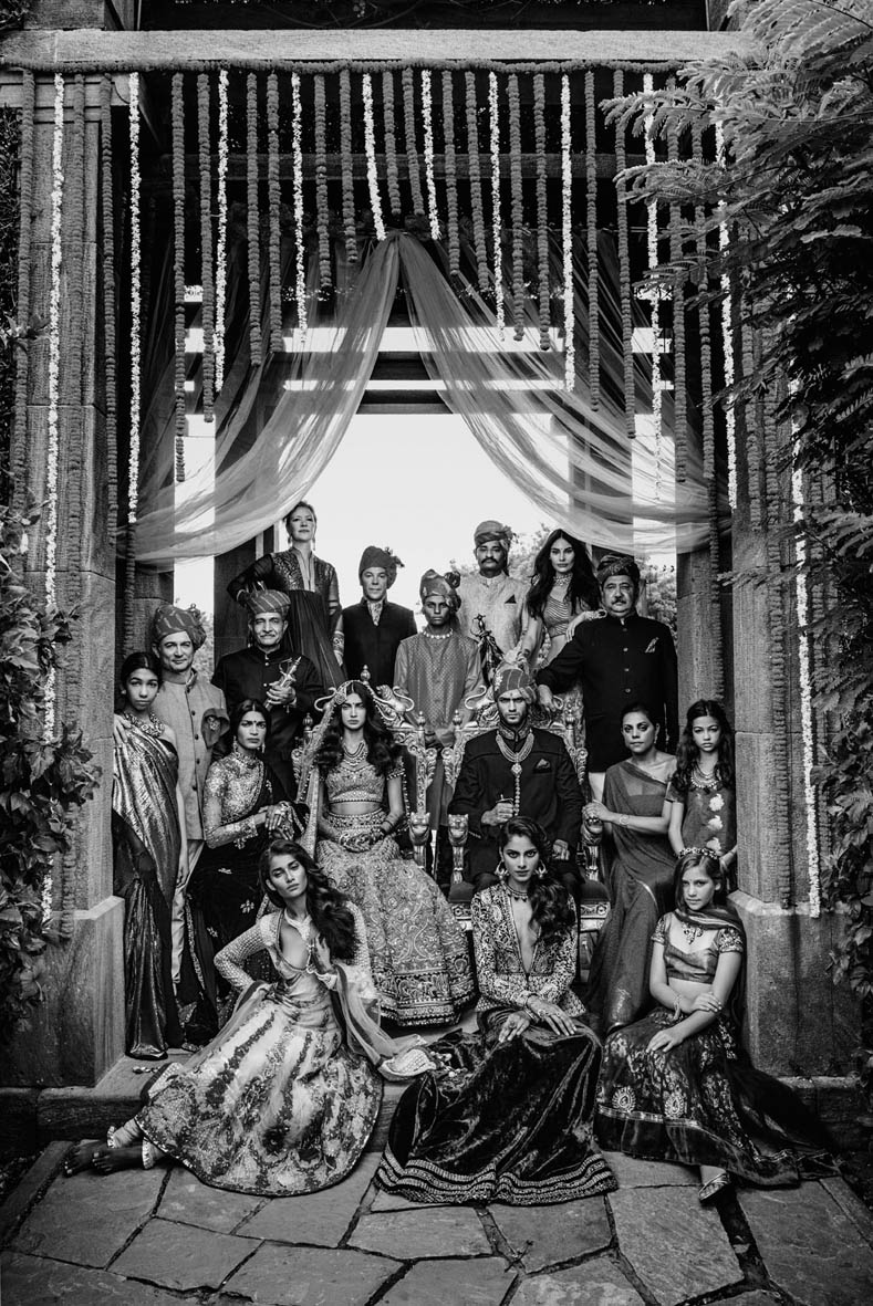 signe vilstrup vogue5 Signe Vilstrup Captures Wedding Style for Vogue India November 2013