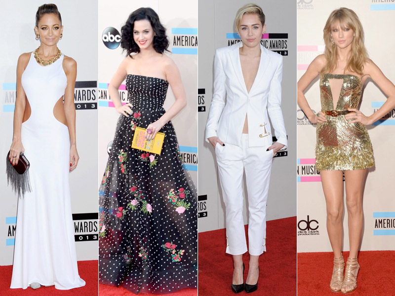 style amas Taylor Swift, Katy Perry, Miley Cyrus + More Star Style at the 2013 AMAs