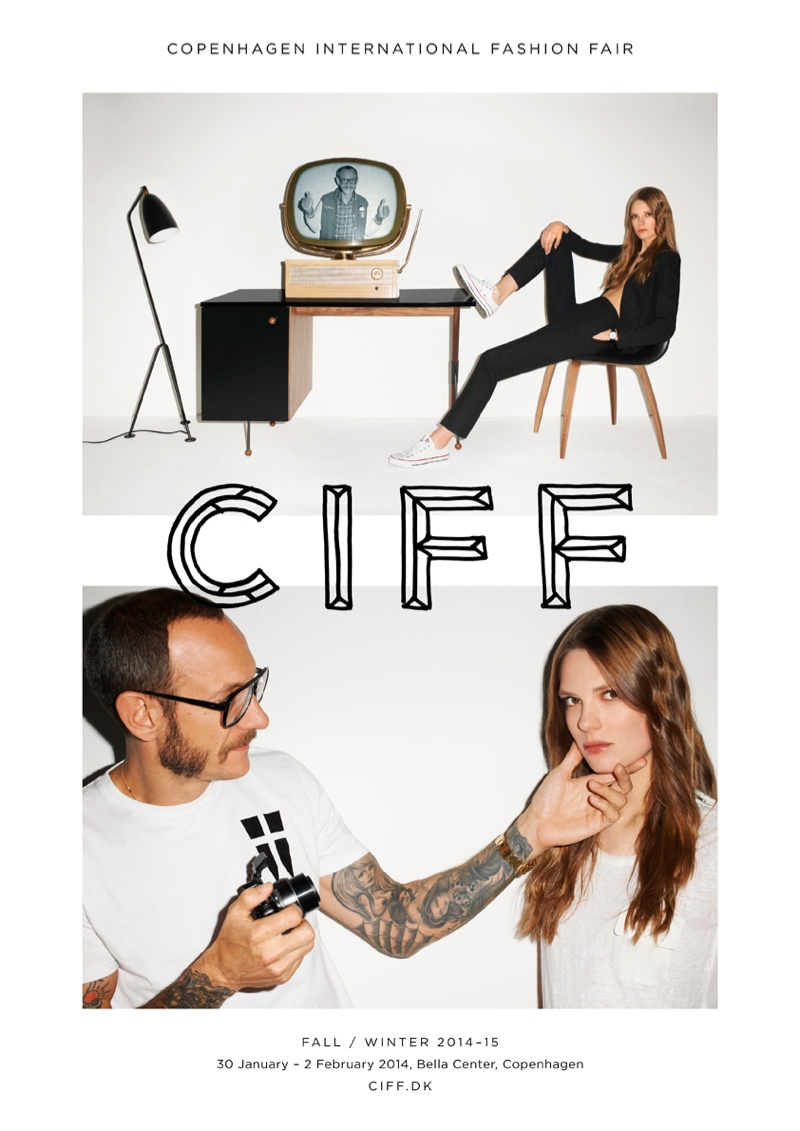 terry richardson ciff1 Terry Richardson & Caroline Brasch Nielsen Star in CIFF Campaign