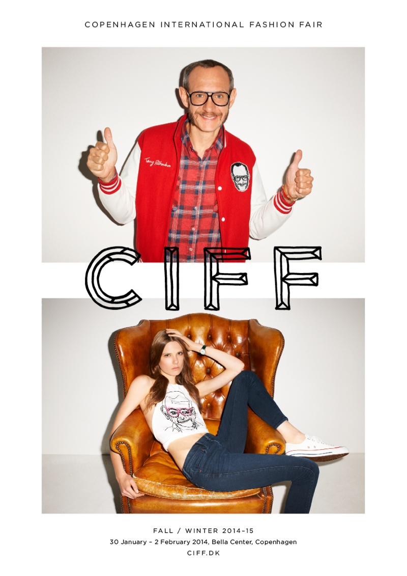 terry richardson ciff2 Terry Richardson & Caroline Brasch Nielsen Star in CIFF Campaign