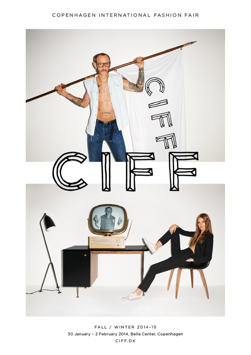 terry richardson ciff3 Terry Richardson & Caroline Brasch Nielsen Star in CIFF Campaign