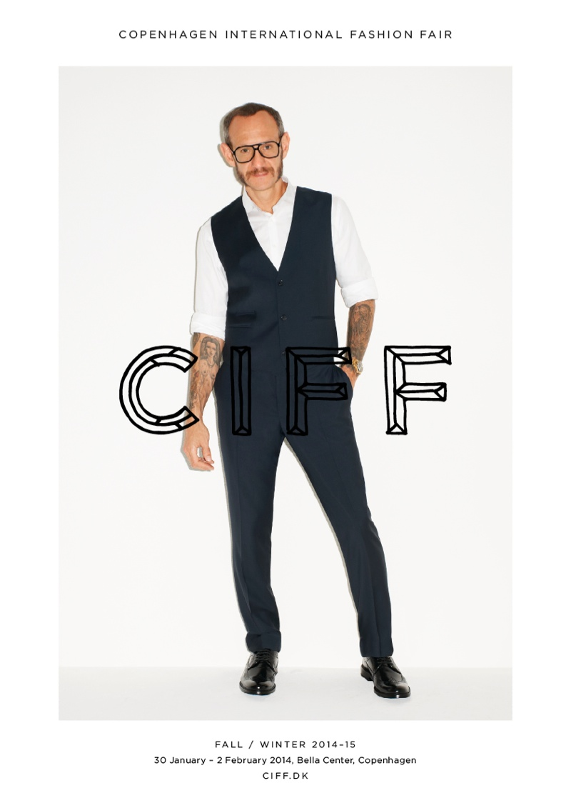 terry richardson ciff4 Terry Richardson & Caroline Brasch Nielsen Star in CIFF Campaign