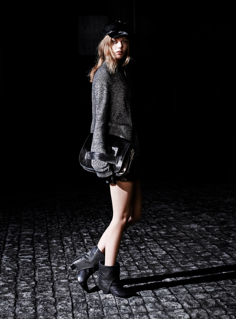 tiger sweden frida2 Frida Gustavsson Stars in Tiger of Swedens Fall 2013 Ads by Hasse Nielsen