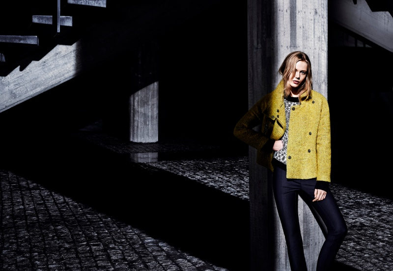 tiger sweden frida4 Frida Gustavsson Stars in Tiger of Swedens Fall 2013 Ads by Hasse Nielsen