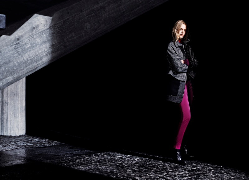 Frida Gustavsson Stars in Tiger of Sweden's Fall 2013 Ads by Hasse Nielsen