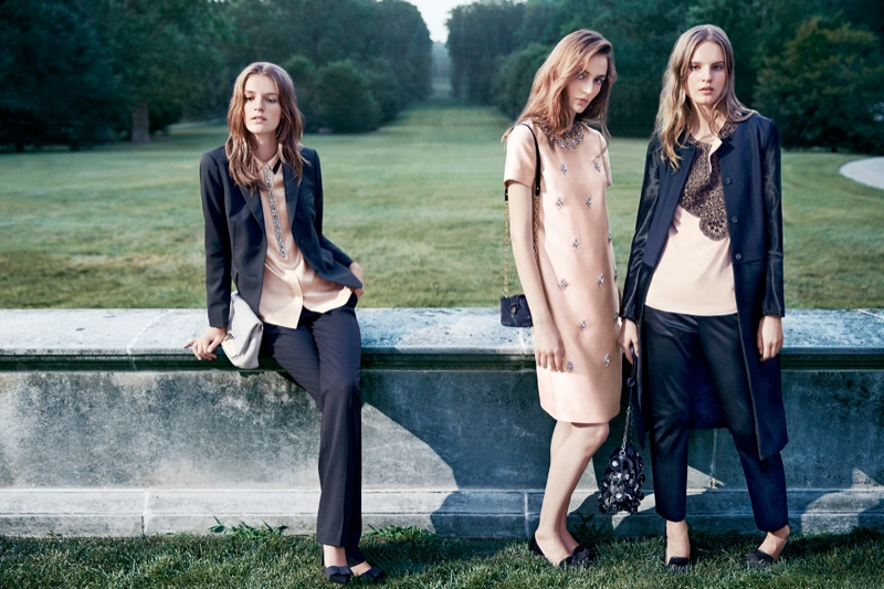 tory burch holiday5 Zuzanna Bijoch, Tilda Lindstam & Laura Kampman for Tory Burch Holiday 2013 Campaign
