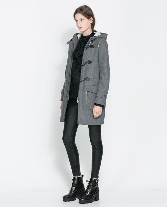 two sided coat Black Friday Savings at Zara