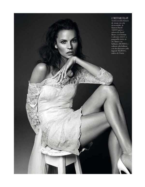 vogue brides alvaro5 Egle Tvirbutaite Poses for Alvaro Beamud Cortes in Vogue Spain Brides