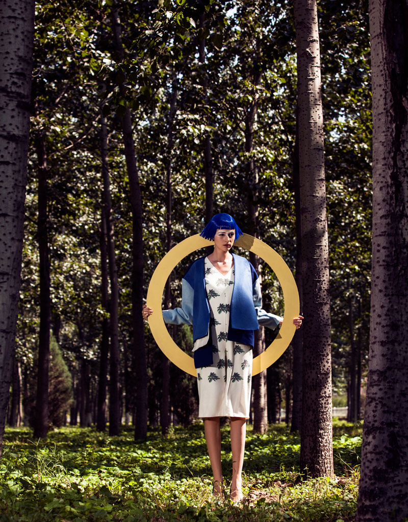wen liu1 Kristina by Wen Liu in Element in Marni for Fashion Gone Rogue