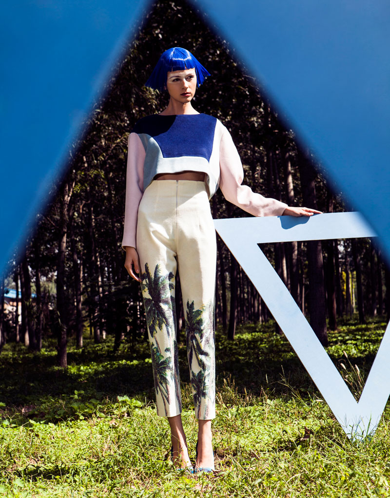 wen liu8 Kristina by Wen Liu in Element in Marni for Fashion Gone Rogue