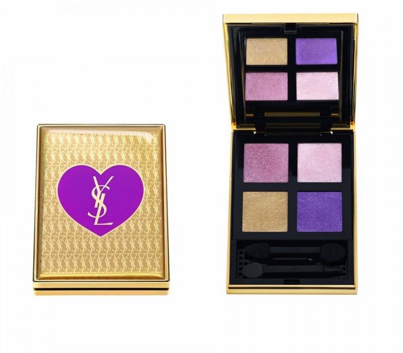 ysl holiday 2013 1 800x700 Lindsey Wixson Stars in YSL Holiday 2013 Cosmetics Collection