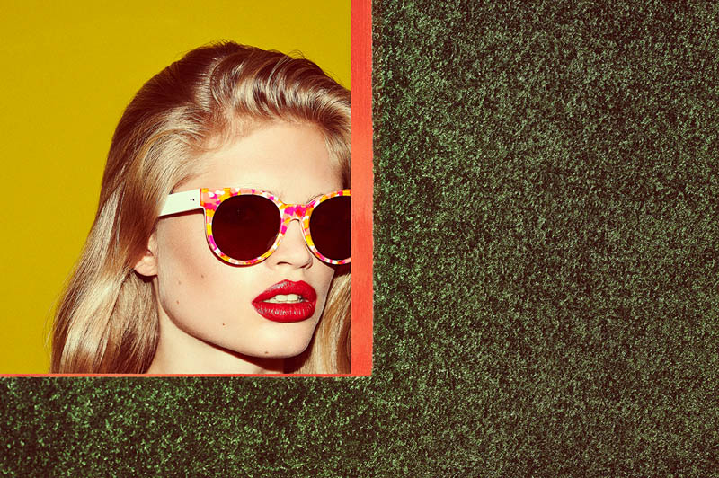 zanzan eyewear2 Ella Merryweather Fronts ZANZAN Eyewears Spring 2014 Collection