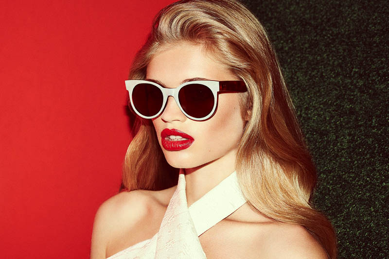 zanzan eyewear4 Ella Merryweather Fronts ZANZAN Eyewears Spring 2014 Collection