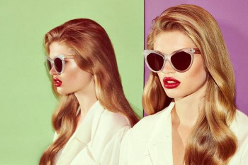Ella Merryweather Fronts ZANZAN Eyewear's Spring 2014 Collection