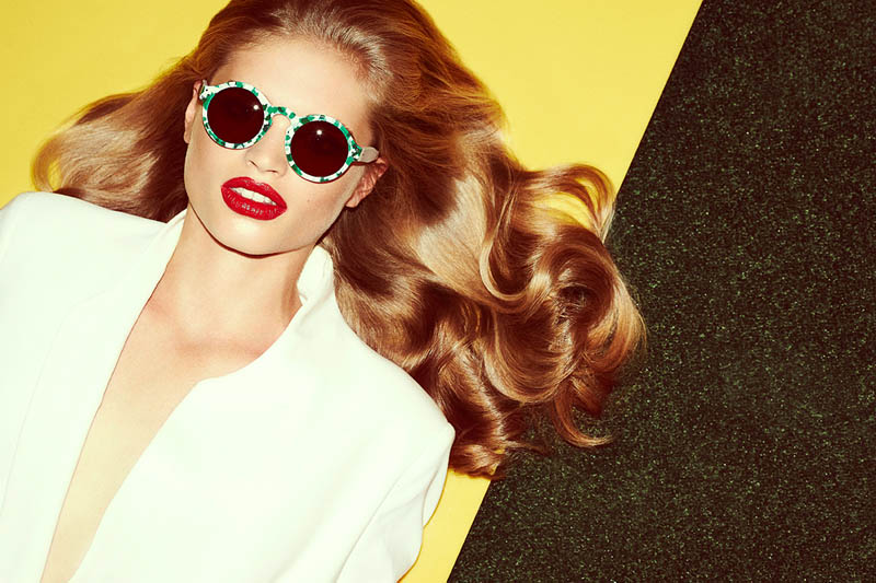 zanzan eyewear7 Ella Merryweather Fronts ZANZAN Eyewears Spring 2014 Collection