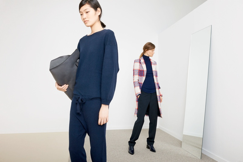 zara november1 Kasia Struss + Chiharu Okunugi Model for Zaras November Lookbook