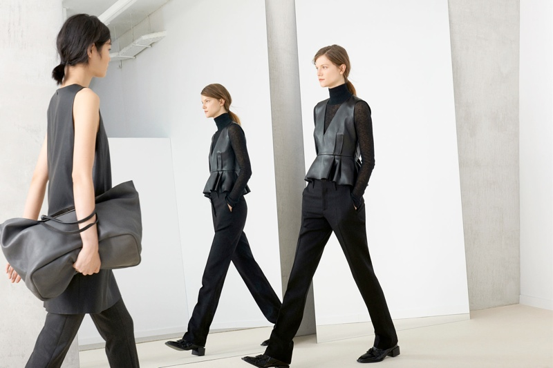 Kasia Struss + Chiharu Okunugi Model for Zara's November Lookbook