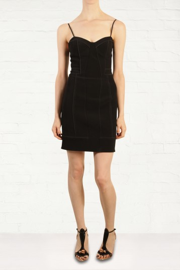 Alexander Wang Black Bustier Dress Fashion for the Festive Season