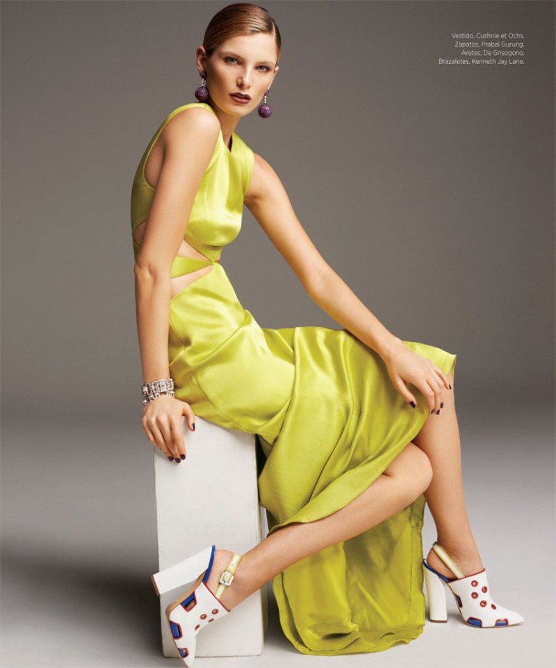 HBDic13 WellBlossom 800x961 Ava Smith Stars in Harpers Bazaar Latin America by Blossom Berkofsky